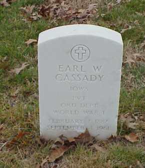 CASSADY  (VETERAN WWI), EARL W - Pulaski County, Arkansas | EARL W CASSADY  (VETERAN WWI) - Arkansas Gravestone Photos