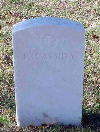 CASSIDA, P - Pulaski County, Arkansas | P CASSIDA - Arkansas Gravestone Photos