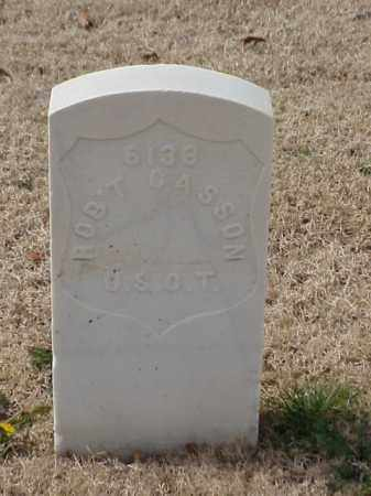 CASSON (VETERAN UNION), ROBERT - Pulaski County, Arkansas | ROBERT CASSON (VETERAN UNION) - Arkansas Gravestone Photos