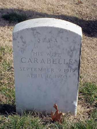 CASSTEVENS, CARABELLE - Pulaski County, Arkansas | CARABELLE CASSTEVENS - Arkansas Gravestone Photos