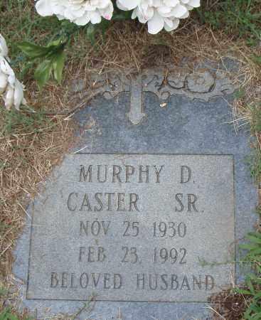 CASTER, SR., MURPHY  D. - Pulaski County, Arkansas | MURPHY  D. CASTER, SR. - Arkansas Gravestone Photos
