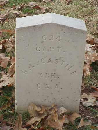 CASTILE (VETERAN CSA), H L - Pulaski County, Arkansas | H L CASTILE (VETERAN CSA) - Arkansas Gravestone Photos
