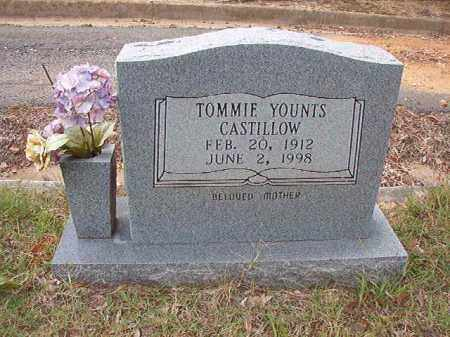 YOUNTS CASTILLOW, TOMMIE - Pulaski County, Arkansas | TOMMIE YOUNTS CASTILLOW - Arkansas Gravestone Photos