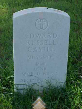 CASTLE (VETERAN WWII), EDWARD RUSSELL - Pulaski County, Arkansas | EDWARD RUSSELL CASTLE (VETERAN WWII) - Arkansas Gravestone Photos