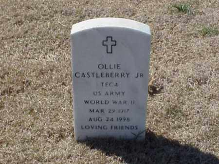 CASTLEBERRY, JR (VETERAN WWII), OLLIE - Pulaski County, Arkansas | OLLIE CASTLEBERRY, JR (VETERAN WWII) - Arkansas Gravestone Photos