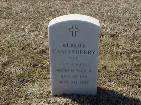 CASTLEBERRY (VETERAN WWII), ALBERT - Pulaski County, Arkansas | ALBERT CASTLEBERRY (VETERAN WWII) - Arkansas Gravestone Photos