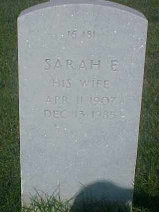 CATES, SARAH E - Pulaski County, Arkansas | SARAH E CATES - Arkansas Gravestone Photos