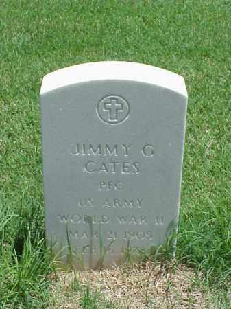 CATES (VETERAN WWII), JIMMY G - Pulaski County, Arkansas | JIMMY G CATES (VETERAN WWII) - Arkansas Gravestone Photos