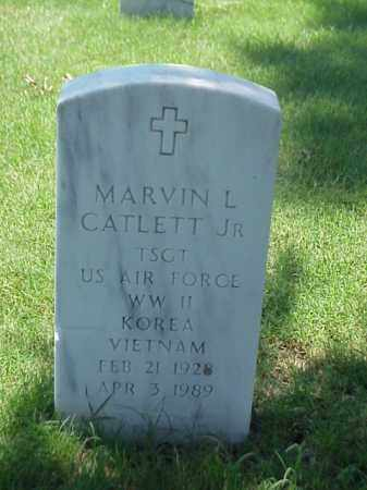 CATLETT, JR (VETERAN 3 WARS), MARVIN L - Pulaski County, Arkansas | MARVIN L CATLETT, JR (VETERAN 3 WARS) - Arkansas Gravestone Photos