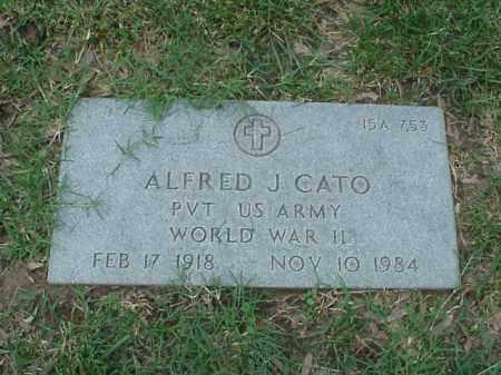 CATO (VETERAN WWII), ALFRED J - Pulaski County, Arkansas | ALFRED J CATO (VETERAN WWII) - Arkansas Gravestone Photos