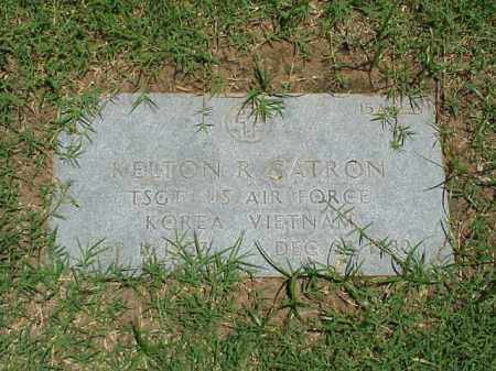 CATRON (VETERAN 2 WARS), KELTON R - Pulaski County, Arkansas | KELTON R CATRON (VETERAN 2 WARS) - Arkansas Gravestone Photos