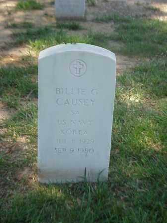 CAUSEY (VETERAN KOR), BILLIE G - Pulaski County, Arkansas | BILLIE G CAUSEY (VETERAN KOR) - Arkansas Gravestone Photos