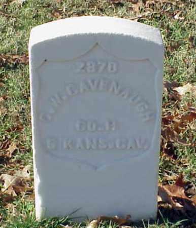 CAVENAUGH (VETERAN UNION), CHARLES W - Pulaski County, Arkansas | CHARLES W CAVENAUGH (VETERAN UNION) - Arkansas Gravestone Photos