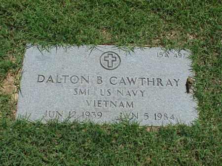 CAWTHRAY (VETERAN VIET), DALTON B - Pulaski County, Arkansas | DALTON B CAWTHRAY (VETERAN VIET) - Arkansas Gravestone Photos