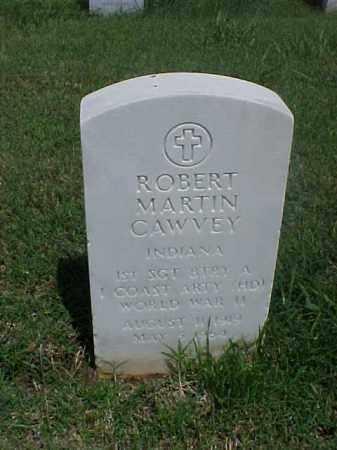 CAWVEY (VETERAN WWII), ROBERT MARTIN - Pulaski County, Arkansas | ROBERT MARTIN CAWVEY (VETERAN WWII) - Arkansas Gravestone Photos