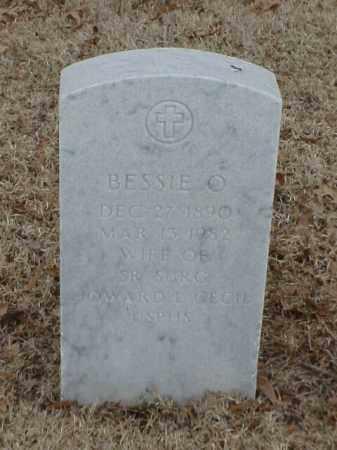 CECIL, BESSIE O - Pulaski County, Arkansas | BESSIE O CECIL - Arkansas Gravestone Photos