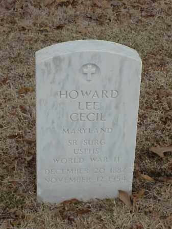 CECIL (VETERAN WWII), HOWARD LEE - Pulaski County, Arkansas | HOWARD LEE CECIL (VETERAN WWII) - Arkansas Gravestone Photos