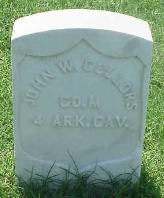 CELLORS (VETERAN UNION), JOHN W - Pulaski County, Arkansas | JOHN W CELLORS (VETERAN UNION) - Arkansas Gravestone Photos