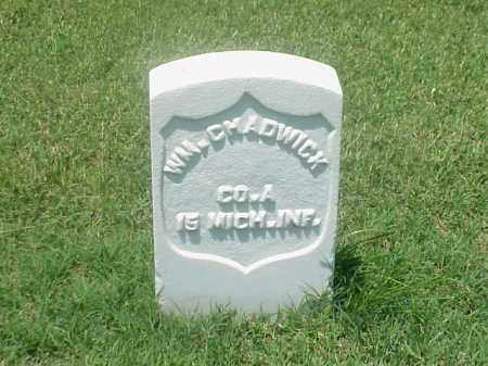 CHADWICK (VETERAN UNION), WILLIAM - Pulaski County, Arkansas | WILLIAM CHADWICK (VETERAN UNION) - Arkansas Gravestone Photos