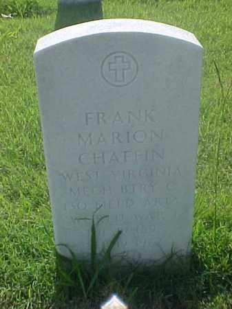CHAFFIN (VETERAN WWI), FRANK MARION - Pulaski County, Arkansas | FRANK MARION CHAFFIN (VETERAN WWI) - Arkansas Gravestone Photos
