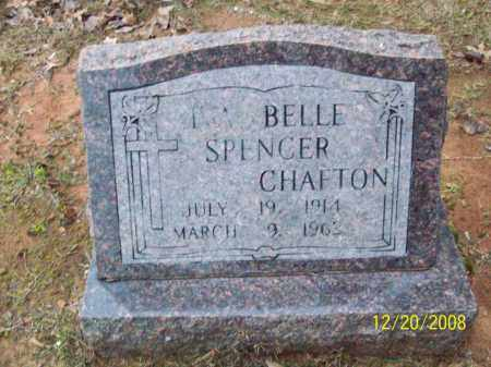 SPENCER CHAFTON, IVA BELLE - Pulaski County, Arkansas | IVA BELLE SPENCER CHAFTON - Arkansas Gravestone Photos