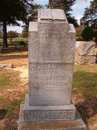 CHAMBERS, ROBERT E - Pulaski County, Arkansas | ROBERT E CHAMBERS - Arkansas Gravestone Photos