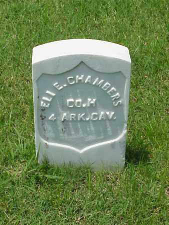 CHAMBERS (VETERAN UNION), ELI E - Pulaski County, Arkansas | ELI E CHAMBERS (VETERAN UNION) - Arkansas Gravestone Photos