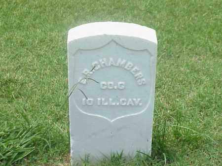 CHAMBERS (VETERAN UNION), EDWARD R - Pulaski County, Arkansas | EDWARD R CHAMBERS (VETERAN UNION) - Arkansas Gravestone Photos