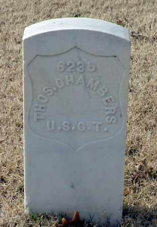 CHAMBERS (VETERAN UNION), THOMAS - Pulaski County, Arkansas | THOMAS CHAMBERS (VETERAN UNION) - Arkansas Gravestone Photos
