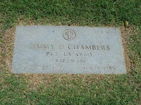 CHAMBERS (VETERAN VIET), JIMMY D - Pulaski County, Arkansas | JIMMY D CHAMBERS (VETERAN VIET) - Arkansas Gravestone Photos
