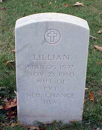 CHANCE, LILLIAN - Pulaski County, Arkansas | LILLIAN CHANCE - Arkansas Gravestone Photos