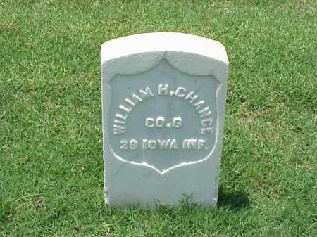 CHANCE (VETERAN UNION), WILLIAM H - Pulaski County, Arkansas | WILLIAM H CHANCE (VETERAN UNION) - Arkansas Gravestone Photos