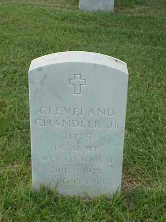 CHANDLER, JR (VETERAN WWII), CLEVELAND - Pulaski County, Arkansas | CLEVELAND CHANDLER, JR (VETERAN WWII) - Arkansas Gravestone Photos