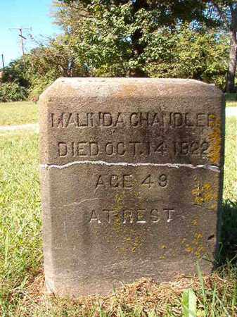 CHANDLER, MALINDA - Pulaski County, Arkansas | MALINDA CHANDLER - Arkansas Gravestone Photos