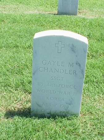 CHANDLER (VETERAN 2 WARS), GAYLE M - Pulaski County, Arkansas | GAYLE M CHANDLER (VETERAN 2 WARS) - Arkansas Gravestone Photos
