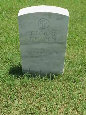 CHAPEN (VETERAN WWII), CECIL D - Pulaski County, Arkansas | CECIL D CHAPEN (VETERAN WWII) - Arkansas Gravestone Photos