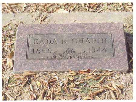 CHAPIN, EADA BELLE - Pulaski County, Arkansas | EADA BELLE CHAPIN - Arkansas Gravestone Photos