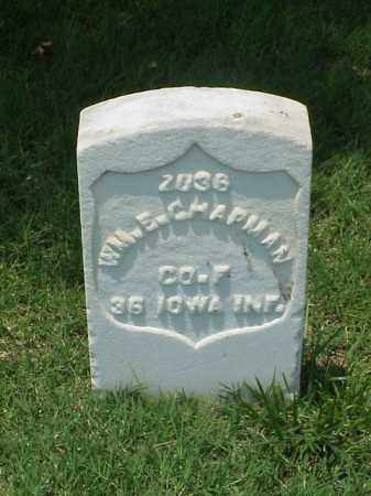 CHAPMAN (VETERAN UNION), WILLIAM E - Pulaski County, Arkansas | WILLIAM E CHAPMAN (VETERAN UNION) - Arkansas Gravestone Photos