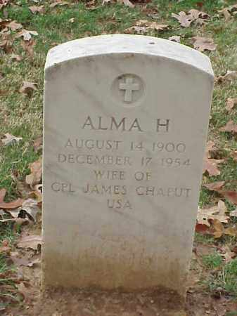 CHAPUT, ALMA H - Pulaski County, Arkansas | ALMA H CHAPUT - Arkansas Gravestone Photos