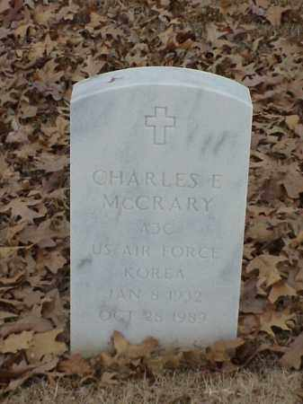 MCCRARY (VETERAN KOR), CHARLES E - Pulaski County, Arkansas | CHARLES E MCCRARY (VETERAN KOR) - Arkansas Gravestone Photos