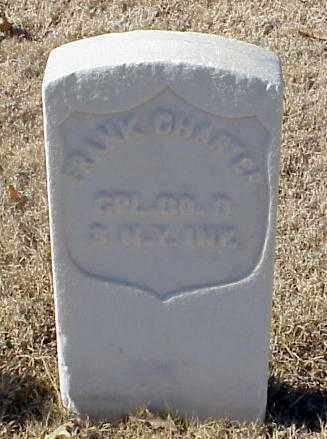 CHARTER (VETERAN UNION), FRANK - Pulaski County, Arkansas | FRANK CHARTER (VETERAN UNION) - Arkansas Gravestone Photos