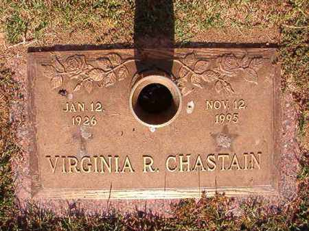 CHASTAIN, VIRGINIA R - Pulaski County, Arkansas | VIRGINIA R CHASTAIN - Arkansas Gravestone Photos