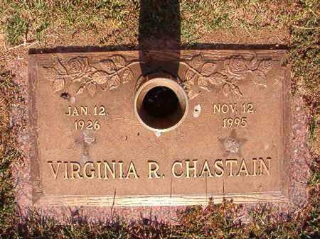 CHASTAIN, VIRGINIA R - Pulaski County, Arkansas   VIRGINIA R CHASTAIN - Arkansas Gravestone Photos