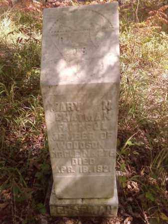 CHATMAN 2, MARY N. - Pulaski County, Arkansas | MARY N. CHATMAN 2 - Arkansas Gravestone Photos