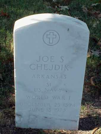 CHEJDIK (VETERAN WWI), JOE S - Pulaski County, Arkansas | JOE S CHEJDIK (VETERAN WWI) - Arkansas Gravestone Photos