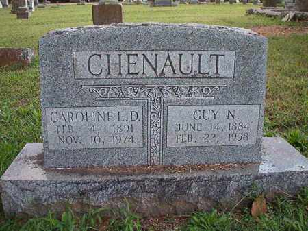 CHENAULT, GUY N - Pulaski County, Arkansas | GUY N CHENAULT - Arkansas Gravestone Photos