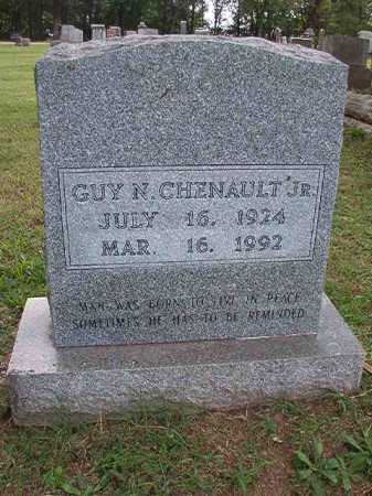 CHENAULT, JR, GUY N - Pulaski County, Arkansas | GUY N CHENAULT, JR - Arkansas Gravestone Photos
