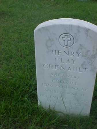 CHENAULT (VETERAN WWII), HENRY CLAY - Pulaski County, Arkansas | HENRY CLAY CHENAULT (VETERAN WWII) - Arkansas Gravestone Photos