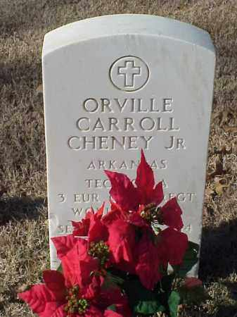 CHENEY, JR (VETERAN WWII), ORVILLE CARROLL - Pulaski County, Arkansas | ORVILLE CARROLL CHENEY, JR (VETERAN WWII) - Arkansas Gravestone Photos