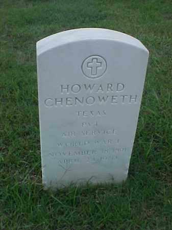 CHENOWETH (VETERAN WWI), HOWARD - Pulaski County, Arkansas | HOWARD CHENOWETH (VETERAN WWI) - Arkansas Gravestone Photos